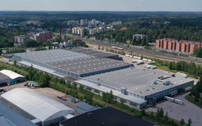 TIEDOTE: LogXellencen logistiikkakeskukselle BREEAM In-Use -ympäristösertifikaatti – tukena Lassila & Tikanoja